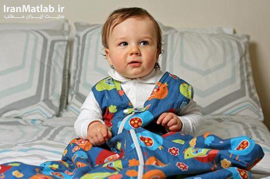 مراحل دوخت کیسه خواب,کیسه خواب نوزاد,دوختن کیسه خواب