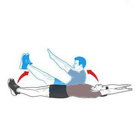 تناسب اندام,3 magical moves to shrink the stomach,کوچک کردن شکم,حرکات ورزشی برای کوچک کردن شکم,سفت کردن عضلات شکم