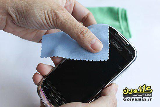 چند راهکار ساده برای تمیز کردن صفحه نمایش موبایل و تبلت, تبلت