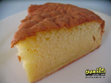 کیک اسفنجی, کیک اسفنجی