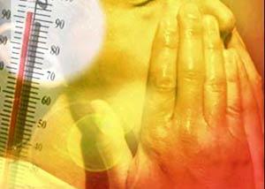 بیماری های تابستانی را دور بزنید, فشار خون