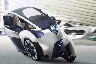 تویوتا i-Road،خودرویی که هرگز چپ نمیکند!, تویوتا i-Road