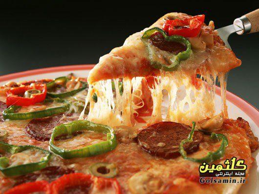 پیتزا مکزیکی با سوسیس, پیتزا مکزیکی