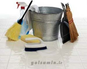 تميز کردن خانه در نيم ساعت , تمیز کردن خانه