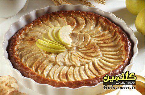 کیک سیب, طرز پخت کیک