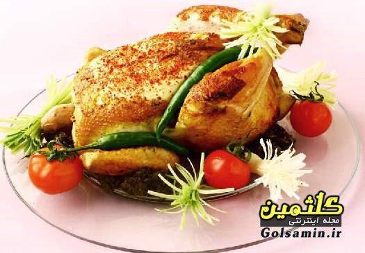 مرغ شکم پر, نحوه پختن مرغ شکم پر