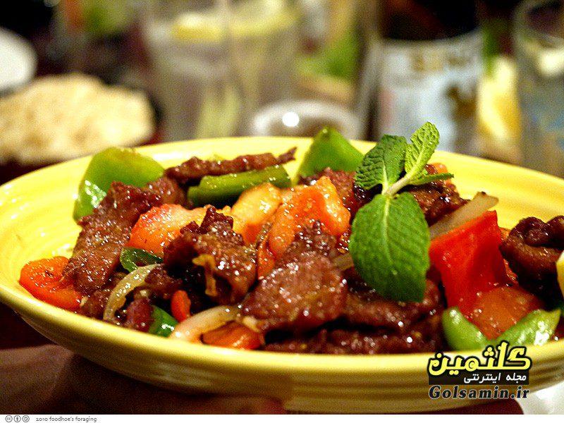 خوراک گوشت بدون روغن, Meat food
