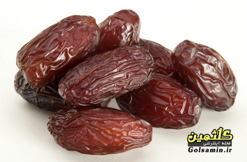 خواص خرما, Properties of Dates