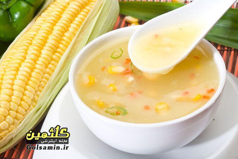 سوپ ذرت, Corn