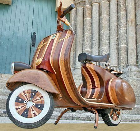 موتورسیکلت چوبی , pic