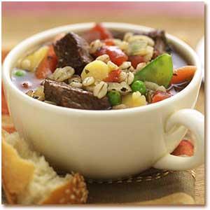سوپ جو و گوشت گاو, Barley Soup