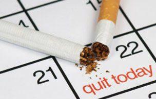 این کار سخت است اما غیر ممکن نیست!, ترک سیگار