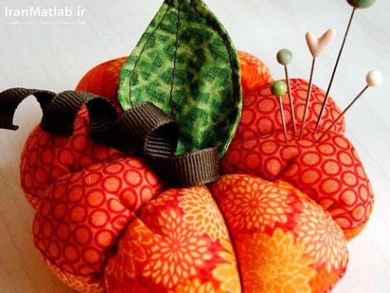 آموزش تصویری دوخت جاسوزنی مدل گل, خیاطی