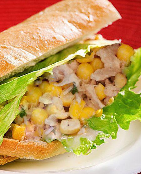 مینی ساندویچ تن ماهی، فست فود بی ضرر برای کودکان, cooking