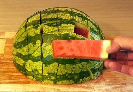 برش درست هندوانه برای حفظ ویتامین ها, برش درست هندوانه, برش درست هندوانه برای حفظ ویتامین ها, هندوانه