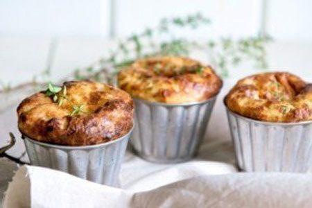 مافین سبزیجات رژیمی, cooking