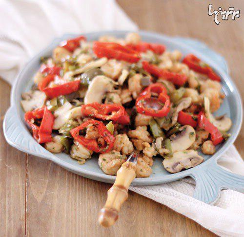 خوراک میگو به سبک تایلندی, cooking