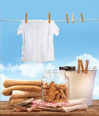 ترکیبات موثر برای پاک کردن لکه عرق از روی پیراهن !, خانه داری