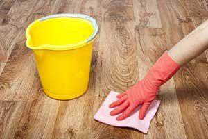 توصیه خانم خانه دار برای تمیز کردن پارکت, خانه داری