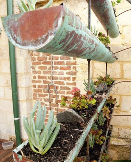 باغچه های آویز,باغچه های سیار در دکوراسیون منزل
