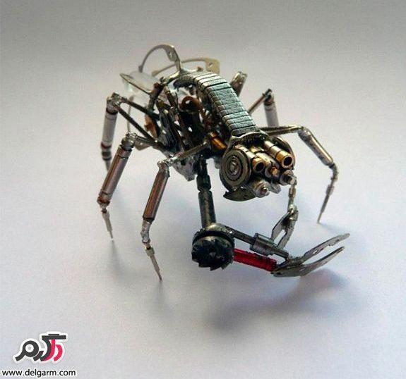 حشرات جالب فلزی..!!!, عکس عجیب