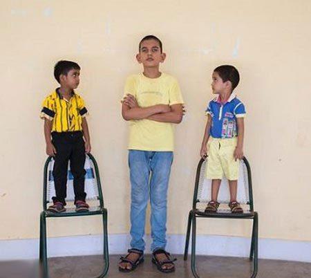 پسر 5 ساله با 170 سانتیمتر قد! +عکس, مطالب جالب و عجیب