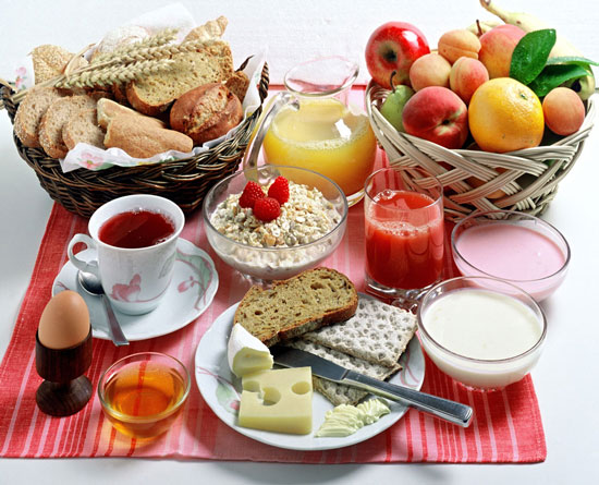 صبحانه های هیجان انگیز