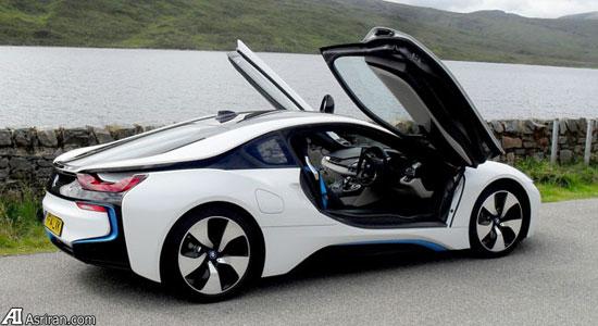 ریموت کنترل میلیونی BMW i8