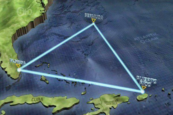 مثلث برمودا و عجایب آن، گورستان آتلانتیک, ماورای طبیعت