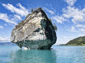عکس های طبیعت زیبای غارهای مرمرین در دریاچه کاررا, طبیعت