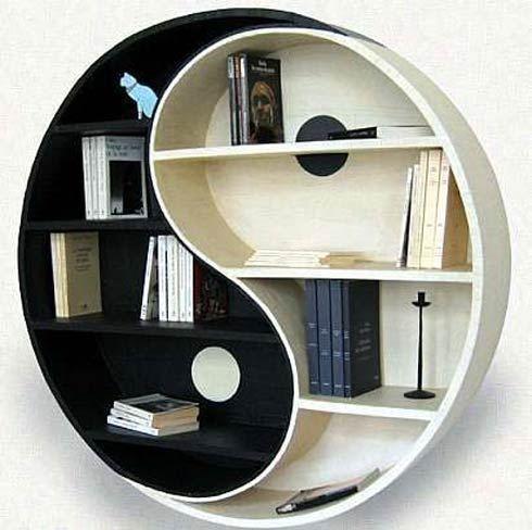 جالبترین قفسه های کتاب سری دوم, عکس عجیب