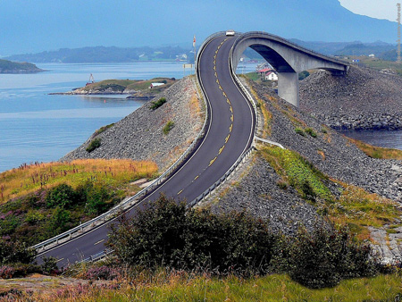 پل ناکجا آباد, پل ناکجا آباد در نروژ, تصاویر پل ناکجا آباد