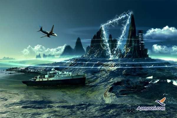اژدهای خفته در دریای شیطان (مثلث اژدها ), ماورای طبیعت