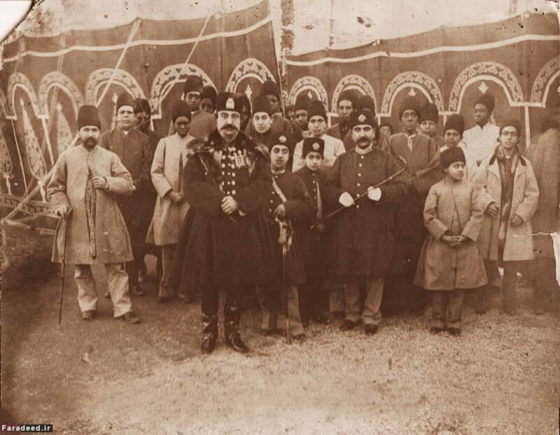 ناصرالدین شاه در اردوی شهرستانک, image