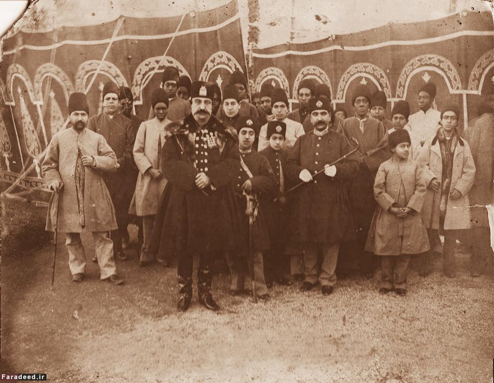ناصرالدین شاه در اردوی شهرستانک