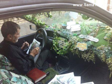 تاکسی جنگلی مجهز به وای فای در تهران + تصاویر, مطالب جالب و عجیب