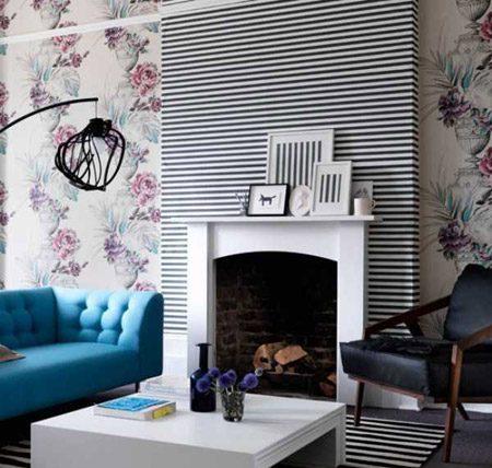 مدلهای جدید کاغذ دیواری با طرح های مدرن, عکس دکوراسیون