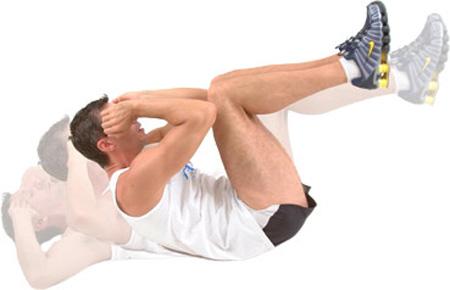 ورزش در پارک,تمرینات ورزشی در پارک,حرکت کرانچ