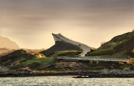 عکس های پل ناکجا آباد, پل ناکجا آباد در نروژ, تصاویر پل ناکجا آباد