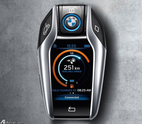 ریموت کنترل میلیونی BMW i8, نقد خودرو