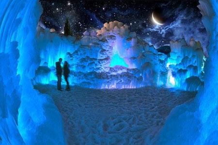 پارک یخی زمستانی در کانادا,تصاویر پارک یخی زمستانی در کانادا,تصاویر پارک یخی