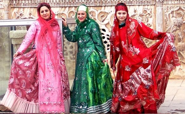 دوخت لباس محلی ,آموزش دوخت لباس محلی بختیاری