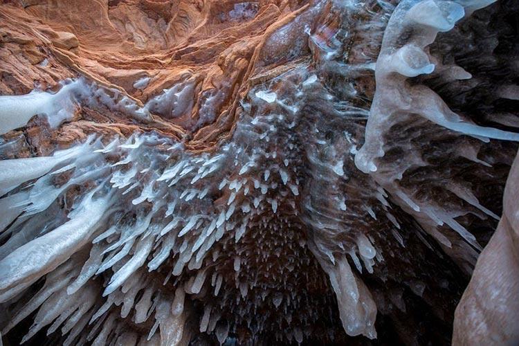 غار یخی دریاچه سوپریور2