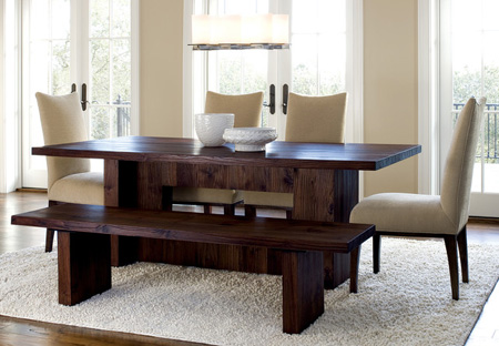 میز و صندلی های چوبی,جدیدترین مدل میز غذاخوری