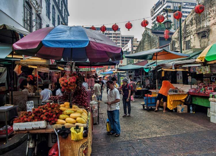 محله چینی ها در کوالالامپور