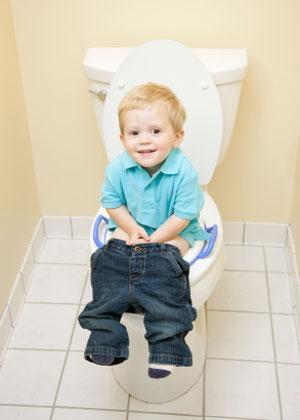 سریع توالت رفتن به کودکان,آداب توالت رفتن
