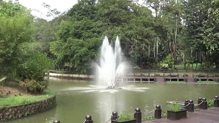 باغ دریاچهای کوالالامپور