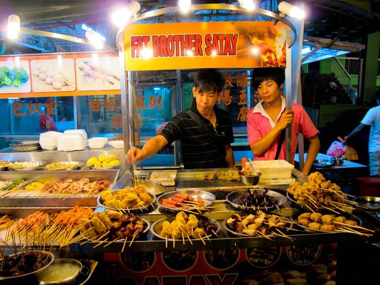 غذاهای کوالالامپور