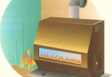 چند نکته بسیار مهم در مورد بخاری گازی, خانه داری