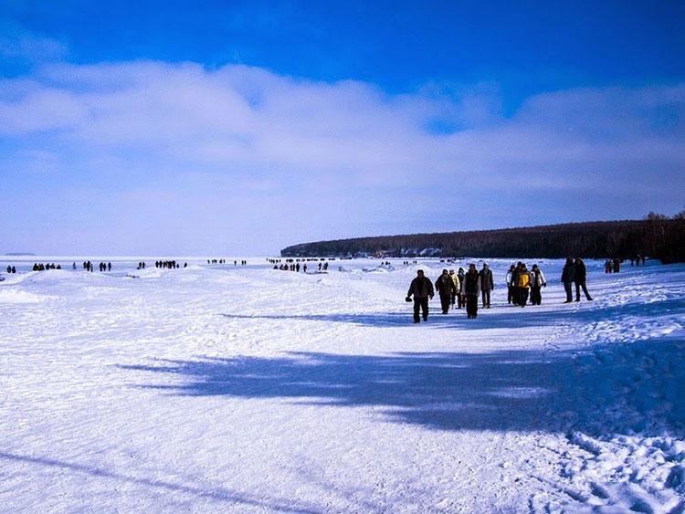 غار یخی دریاچه سوپریور10